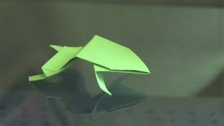 How To Make An Origami Bouncing Frog : Origami Ideas