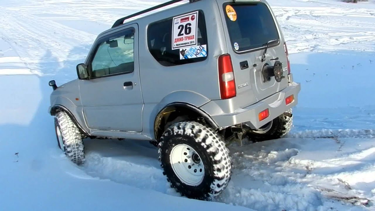 Suzuki Jimny Wheels And Tyres