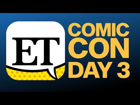 Comic Con 2018 Day 3 | ET LIVE With The Cast Of Riverdale - Part 1   @ 3:45 PM PST
