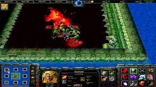 Warcraft 3 | Custom Hero Survival v2.6c | Thorns Aura OP | Ah, child