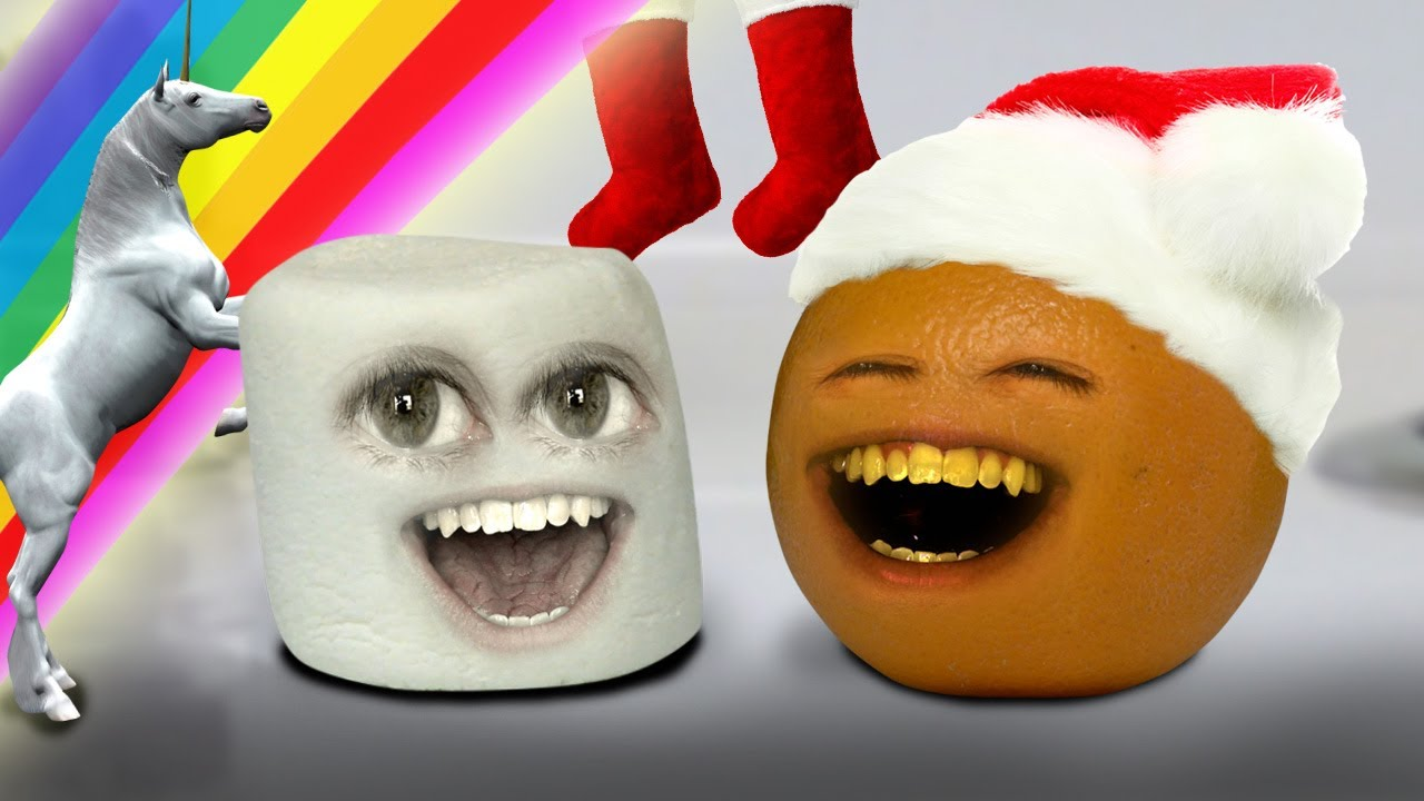 Annoying Orange - Marshmallow's Christmas Sock (12 Days Of ...