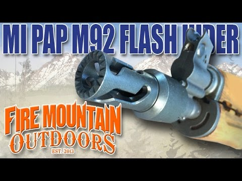 SNEAK PEEK: Midwest Industries PAP M92 Flash Hider (MI-M92FH)