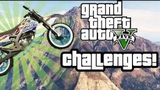 GTA 5 Dirt Bike Stunts Happy New Year 2015