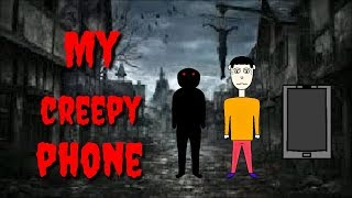 Scary story my creepy phone || Animation in Hindi || Horror story Animation Book