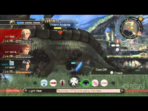 Xenoblade Chronicles: Combat Teamwork Gameplay