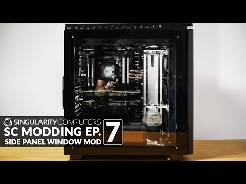 SC Modding #7: Side Panel Window Mod