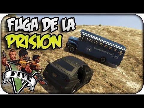 #GTANightXoda Mision: La Fuga De La Prisi ón