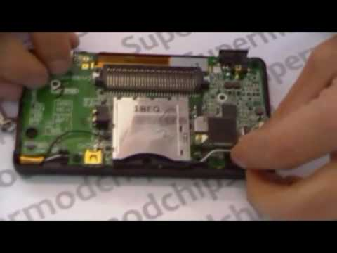 How to repair a Nintendo DS Lite NDSL Hinge 1