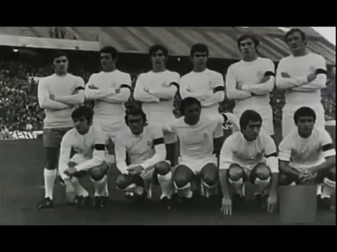1970-71 Atlético de Madrid vs Real Madrid (2-2) Estadio Manzanares. Madrid Derby. Clásico.