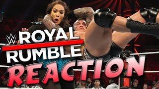 WWE ROYAL RUMBLE 2019 REACTION AND REVIEW (Randy Orton RKO Nia Jax)