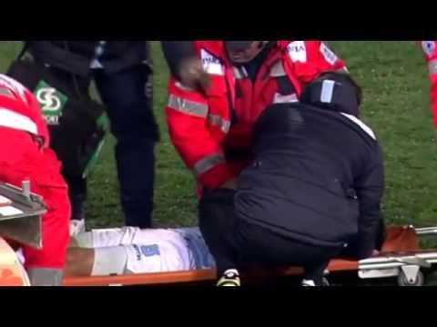 Hernanes Injury   Lazio vs Juventus   Coppa Italia