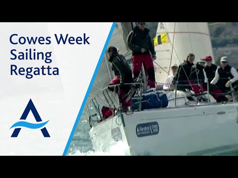 The largest sailing regatta of its kind - Aberdeen Asset Management Cowes Week