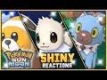 10 EPIC LIVE SHINY POKEMON REACTIONS! Pokemon Sun And Moon Shiny Pokemon Montage