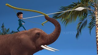 Bahubali 2 Scene Animation Spoof || TopToos Funny Videos