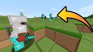 SNEAK ATTACKING 2 OP PLAYERS! - Minecraft Friend or Foe #11