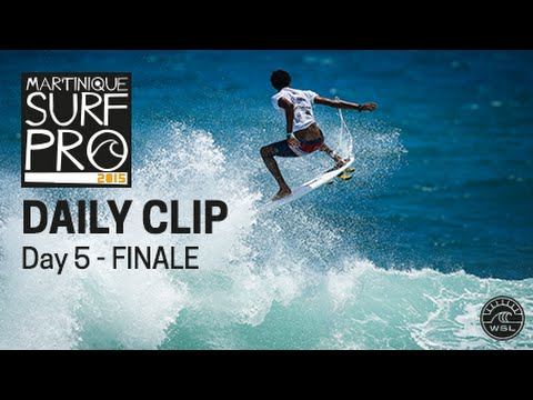 Martinique Surf Pro : fracassant Joshua Moniz !