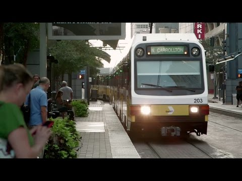 Texas cities reap economic boon from light rail