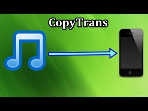 Musik ohne iTunes auf iPhone.iPod Touch & iPad laden - CopyTrans
