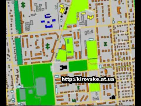 Электроная карта города