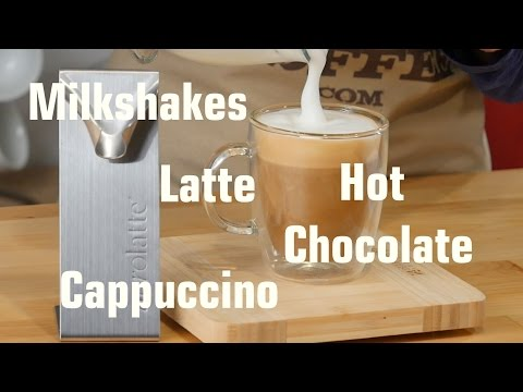 How to use a Aerolatte Milk Frother