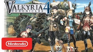 Valkyria Chronicles 4 Announcement Video - Nintendo Switch