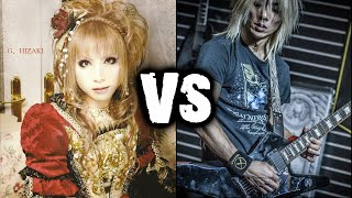 Hizaki [Jupiter] VS Syu [Galneryus] (Guitar Battle)