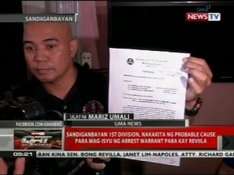 Arrest warrant laban kay Sen. Bong Revilla, posibleng ilabas anumang araw mula ngayon