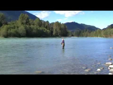 Winter Trout Fishing Remote, Wild BC Trout