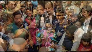 Pakistani cricket team warm welcome in Pakistan stand up for the champions