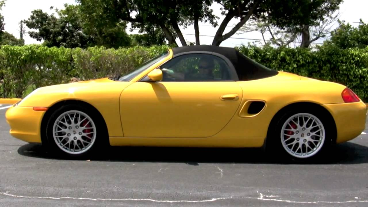 2001 Porsche Boxster S Youtube