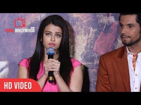 Aishwarya Rai Bachchan Emotional Speech At SARBJIT Theatrical Trailer Launch