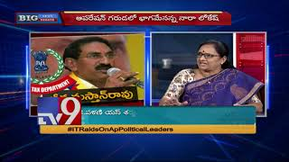 YCP Vasireddy Padma on IT raids in AP