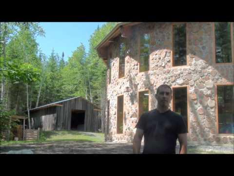 Biob tir et la maison en bois cord de s bastien demers for Autoconstruction maison bois