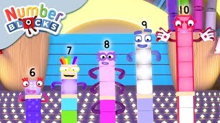 Numberblocks - Where are Five & Friends? | Learn to Count
