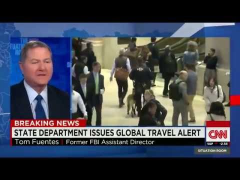 State Department issues worldwide Travel Alert - US Cities on High Alert