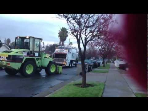 Christmas Eve Footage: Leach REL Green Waste Recovery