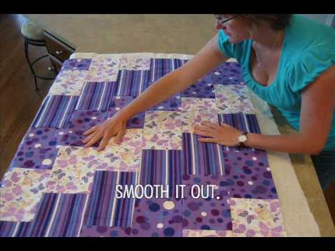 Making Fleece Baby Blankets With Knots How to Make a Baby Blanket