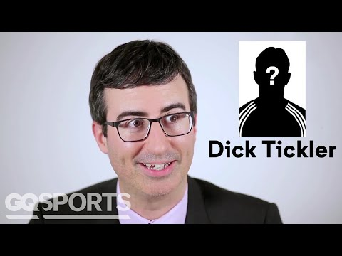 Crazy Soccer Names: GQ Asks John Oliver If They're Real or Fake