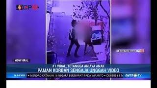 Viral, Rekaman CCTV Tetangga Aniaya Anak di Surabaya