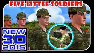 Five Little Soldiers Children Nursery Rhymes Nursery Kids