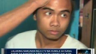 Saksi: Exclusive: Lalaking nakunan ng video na hinila ang babaeng umano