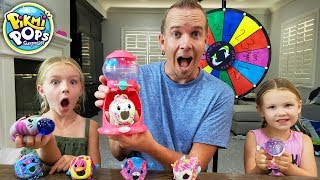 Mystery Wheel Picks Our Ingredients for New Pikmi Pops Squeezeball Maker!