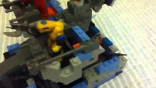 Halo mega bloks Custom Troop Transport Wriath