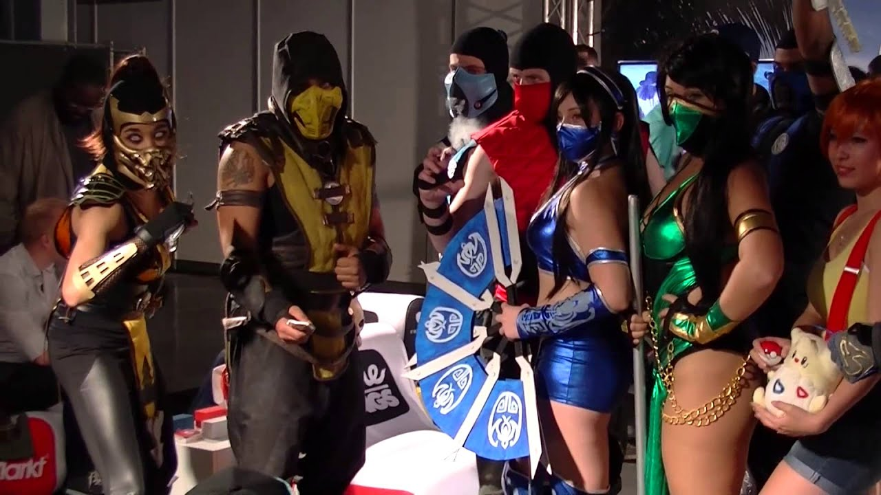 mortal kombat cosplay at firstlook2014 youtube