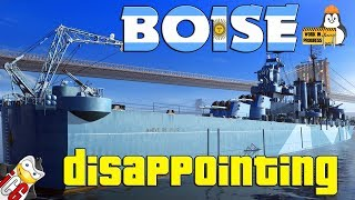 World of Warships - Boise WiP - Disappointing