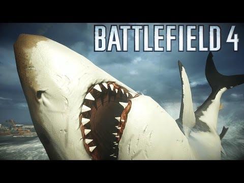 МЕГАЛОДОН! АКУЛА-ГИГАНТ В Battlefield 4