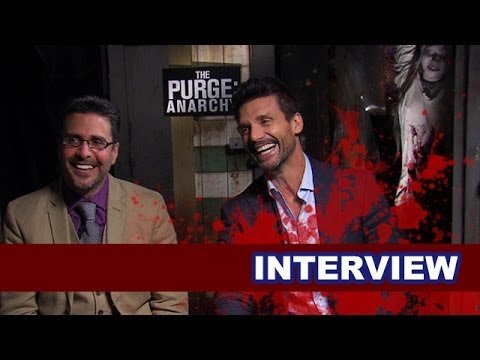The Purge Anarchy Interview Today! Frank Grillo & James DeMonaco - Beyond The Trailer
