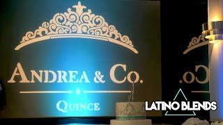 Tiffany & Co. Themed Quinceañera Party Long Beach DJ Latino Blends