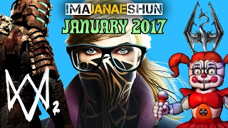 BEST OF JANUARY 2017! - Imajanaeshun Highlights
