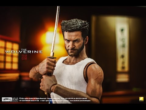 REVIEW : Hottoys The Wolverine MMS220 HD full